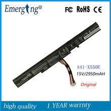 Nouveau Original 15 V batterie dordinateur portable pour asus A41-X550E X450 X450E X450J X450JF A450J A450JF A450E F450 F450C F450V F450E