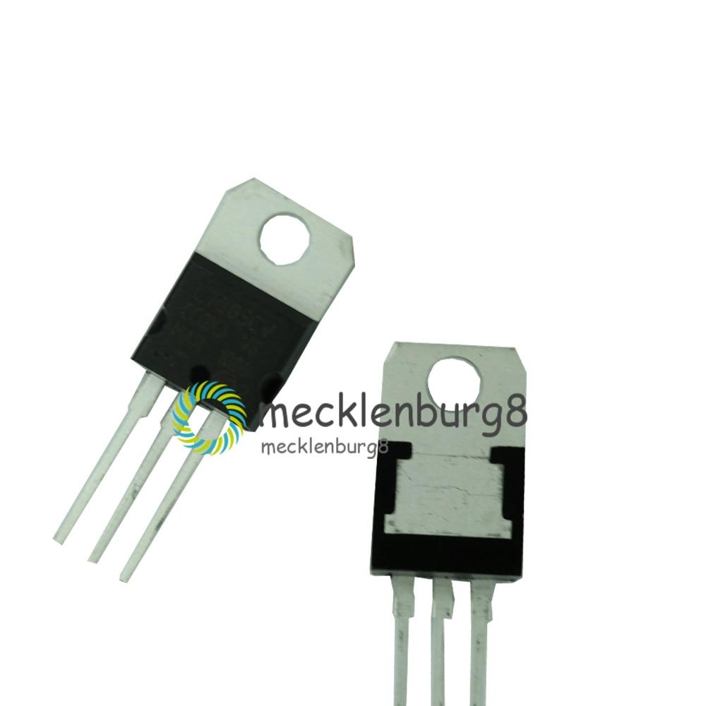 10pcs LM7805 L7805 7805 Voltage Regulator IC 5V 1.5A TO-220