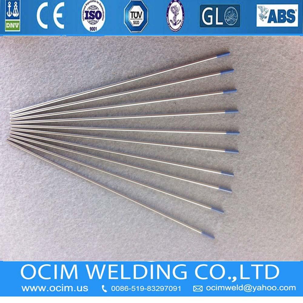 Blue 1.6&2.4MM*175mm  Tungsten Electrode WL20 TIG Welding Tip  2% Lanthanated
