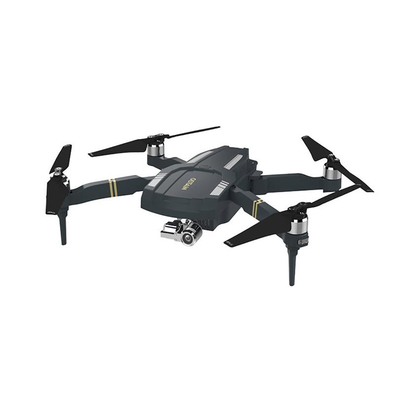 Drone Global obtener Quadcopter plegable FPV profesional Drone con 3 ejes cardán 1080P HD Cámara GPS plegable Selfie RC Drone