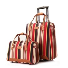 Neue Mode Koffer Roll Gepäck Sets 20 zoll Oxford Reisetasche Trolley Bag Fest Rollen Internat Koffer