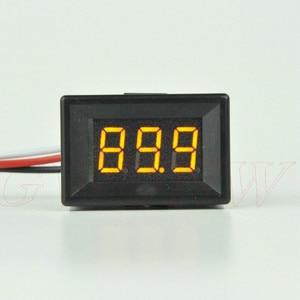 GWUNW BY336VK DC 0-99.9V (100V) 3 bit 0.36inch Voltage Tester Meter digital voltmeter  Panel Meter