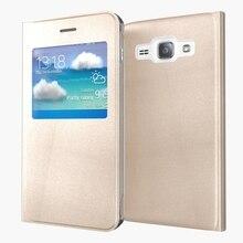 J120 Luxury View Phone Shell Bag For Samsung Galaxy J1 2016 J120F J120 SM J120F DS J120H 4.5