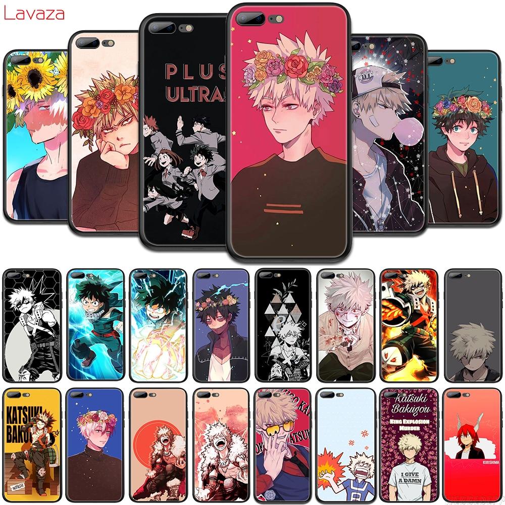 Lavaza Anime Katsuki Bakugou del teléfono del TPU del caso para OPPO F5 F11 R15 R17 Pro A1 A3S A5s A7 A37 A57 a73 A83 cubierta suave