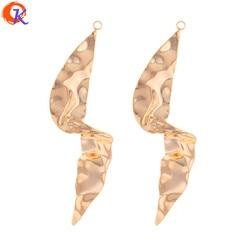 Cordial Design 30 Pcs 22*61 MILÍMETROS Jóias Acessórios/DIY Fazendo/Forma Irregular/Chapeamento de Ouro Genuíno /Feitos à mão/Resultados Da Earrngs