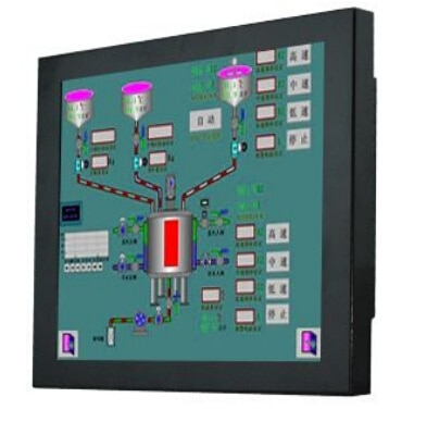 OEM Resisitive KWIPC-15-8 Industrial Touch Panel PC,15'' Dual i3 3.5G CPU, 2G RAM 32G Disk 1024 x 768 Resolution 1 Year Warranty