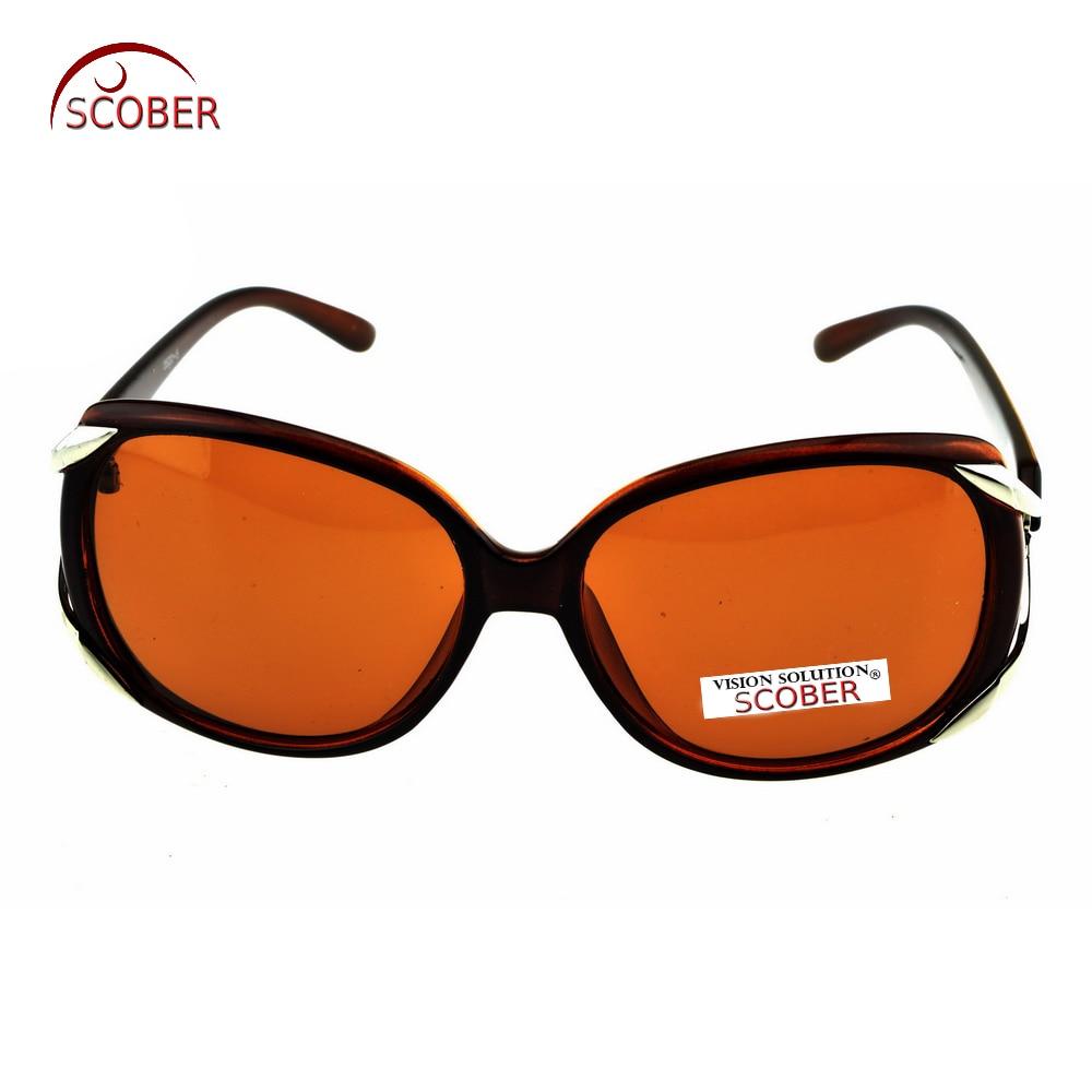 Gran oferta 2019 = gafas de sol personalizadas Scober Butterfly, menos gafas graduadas, lentes de doble haz polarizado 1,5-2-1-To-6