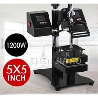 Upper And Lower Plate Heat Stamping Machine 12*12cm Manual Flat Heat Press Machine Moving Head Hot Stamping Machine 110V/220V