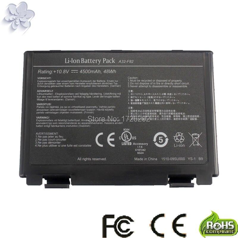 Laptop Battery For ASUS X5D X5DAB X5DAF X5DC X5DI X5DID X5DIP X5DIE X5DIJ X5DIN X5DAD K60I K61IC-A1