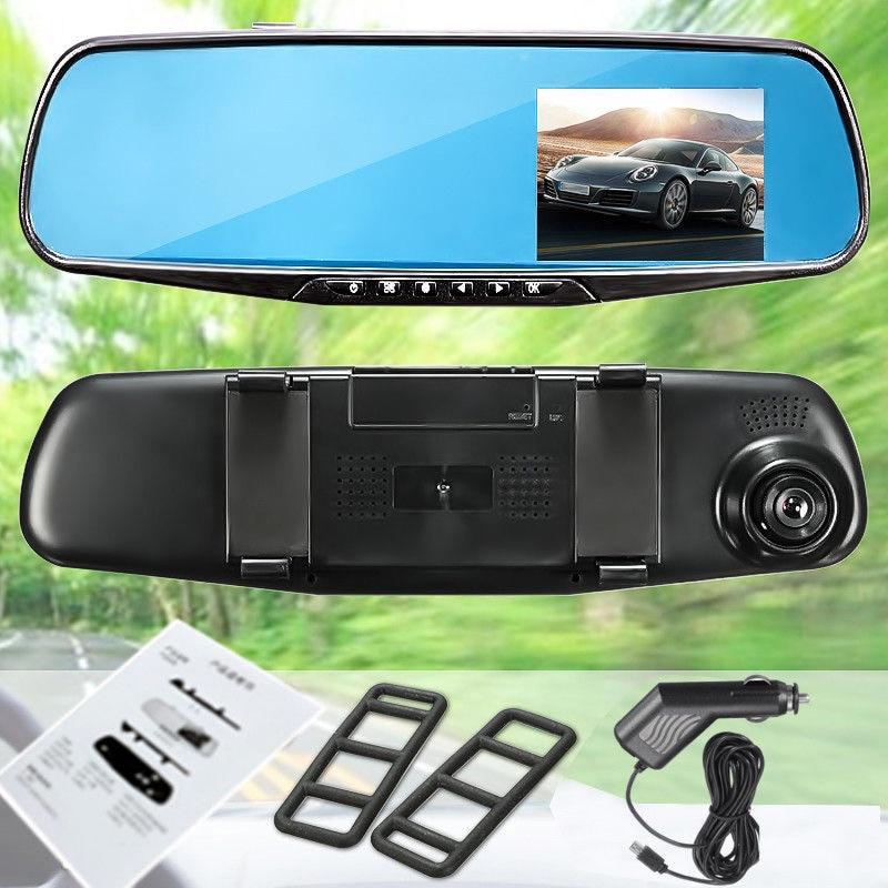 "¡Está de promoción! HD 1080P 2,8 ""LCD cámara de vídeo de visión nocturna DVR pantalla de visualización espejo retrovisor cámara de salpicadero Cámara"