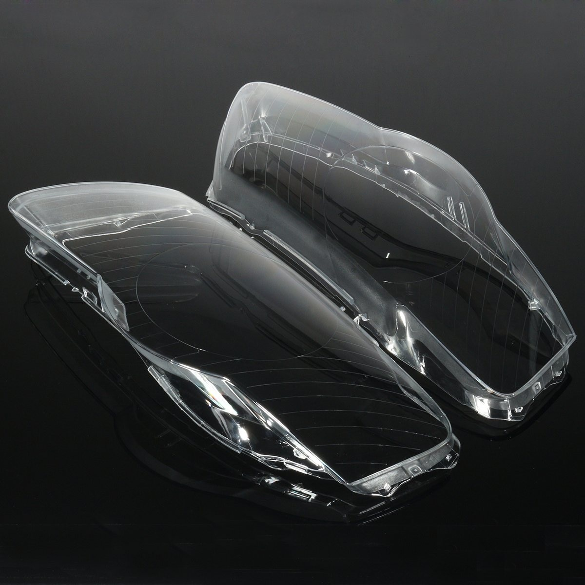 Пара автомобильных фар, водонепроницаемые яркие прозрачные линзы для фар Volkswagen VW Passat B6 bi-Xenon R36