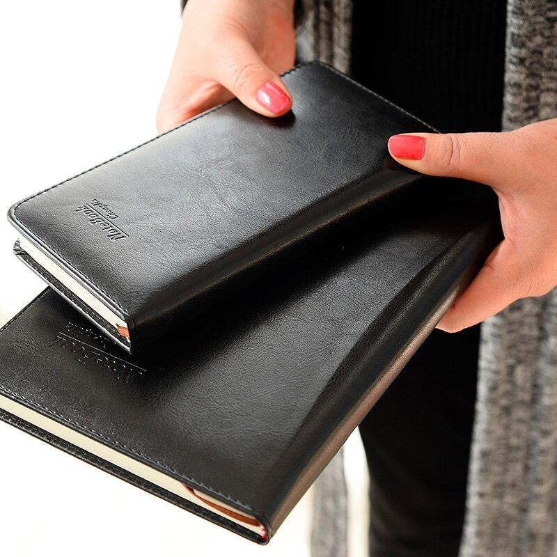 Cheng Jia, cuaderno de cuero Pu de alta calidad, papelería de oficina, Caderno, diario, planificador de bocetos, Agenda, regalo, libro de viajeros