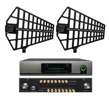 Beau distributeur dantenne directionnelle 500 MHz-950 MHz numérique pour 8 ensembles de système de Microphone sans fil collecteur de séparateur de micro