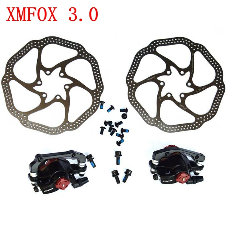 XMFOX 3,0 MTB дорожный велосипед дисковый тормоз передний задний для велосипеда тормозной диск FR5 тормозные колодки ротор PK BB5 BB7 части велосипеда