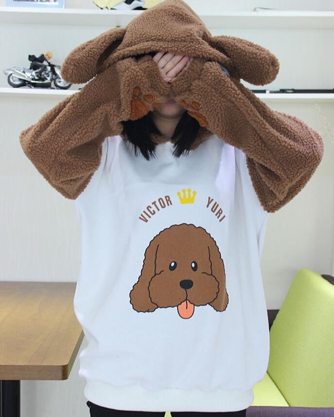 ¡COYOUNG Store hombres mujeres Anime nuevo YURI! Sobre hielo Victor Katsuki Yur abrigo de algodón Sudaderas ropa Cosplay disfraz