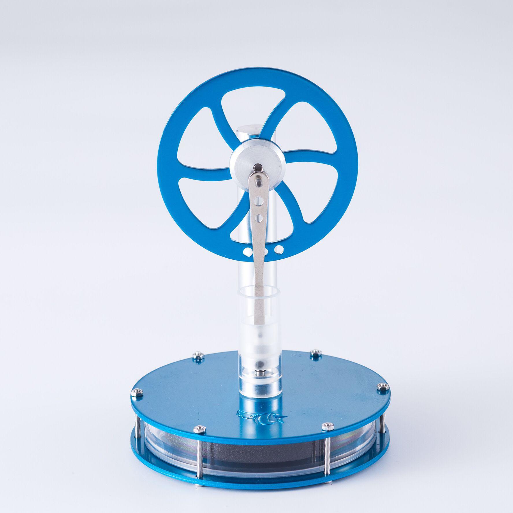 Nueva diferencia de temperatura baja, motor de aire caliente Stirling, modelo de vástago colorido para clase física, modelo experimental, regalo, juguetes para adultos
