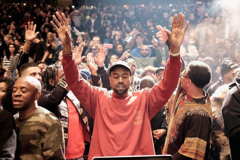 """MX03148 Kanye West Hip Hop americano cantante estrella 36 """"x 24"""" cartel"""