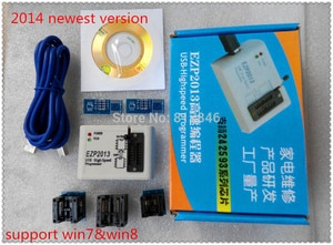 Free shipping 24 25 93 Series USB High Speed Programmer 2013 Edition Programmer high-speed USB SPI Programmer +5adapters