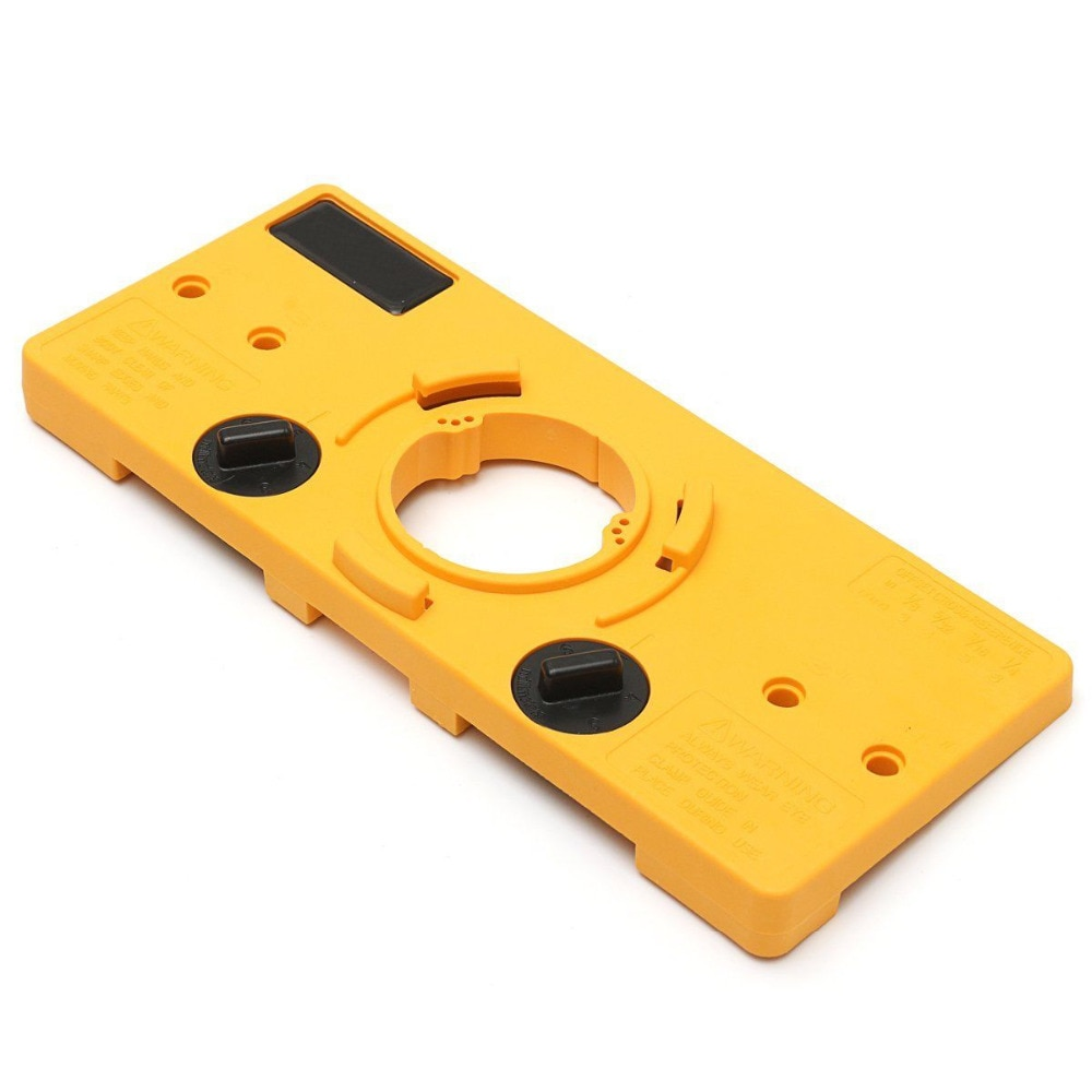 WENXING 35mm Concealed Cabinet Hinge Jig Wood Hole Saw Drill Locator For Kreg Guide Tool enlarge