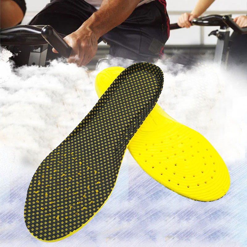 PU Sports Orthotics Arch Support Shoes Insoles Flat Feet Running Breathable for feet Man Women Orthopedic Pad