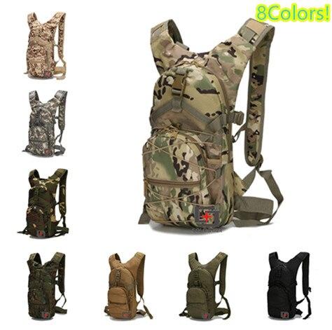 Mochila táctica Multicam de 8 colores, mochila de nailon de alta calidad para Camping senderismo, mochila al aire libre, equipo militar