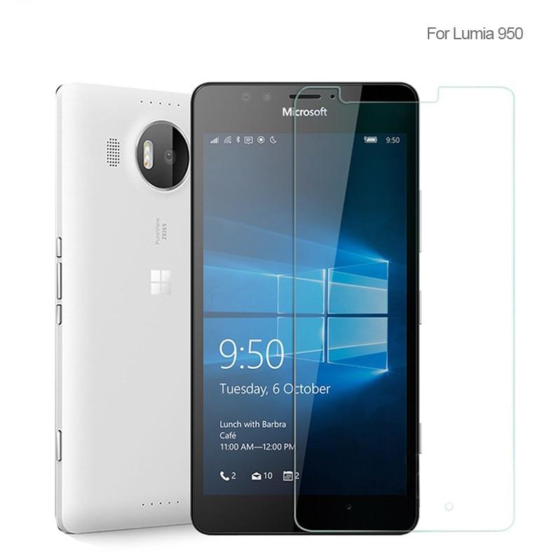 2PCS Screen Protector Glass For Nokia Lumia 950 Tempered Glass For Nokia Lumia 950 Glass Anti-scratc