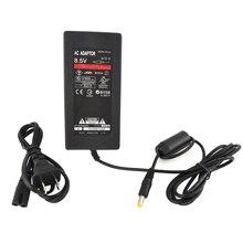 Xunbeifang 100 шт. в партии, штепсельная вилка США, адаптер переменного тока, зарядное устройство, шнур, кабель питания для PS2 консоли, тонкий черный