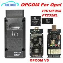 OPCOM V1.99 V5 OP COM V1.95 V1.78 V1.70 V1.65 V1.59 Für Opel Diagnose Werkzeug PIC18F458 & FTDI Chip NEC Relais OP-COM 120309A