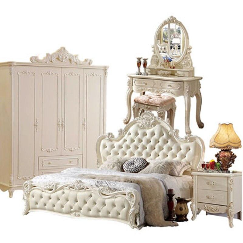 Домашний ремонт классический стиль заводская цена комплекты для спальни|Наборы
