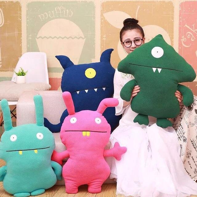 Coreia do sul presas feio bebê real boneca originalidade de brinquedos de pelúcia crianças menina boneca presente