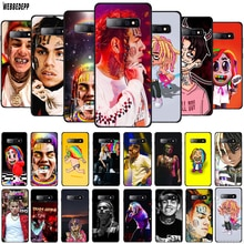 WEBBEDEPP 6ix9ine Tekashi69 TPU Cover for Samsung Galaxy A10 A30 A40 A50 A70 A6 A8 A9 J6 2018 Note 8 9 Soft Case