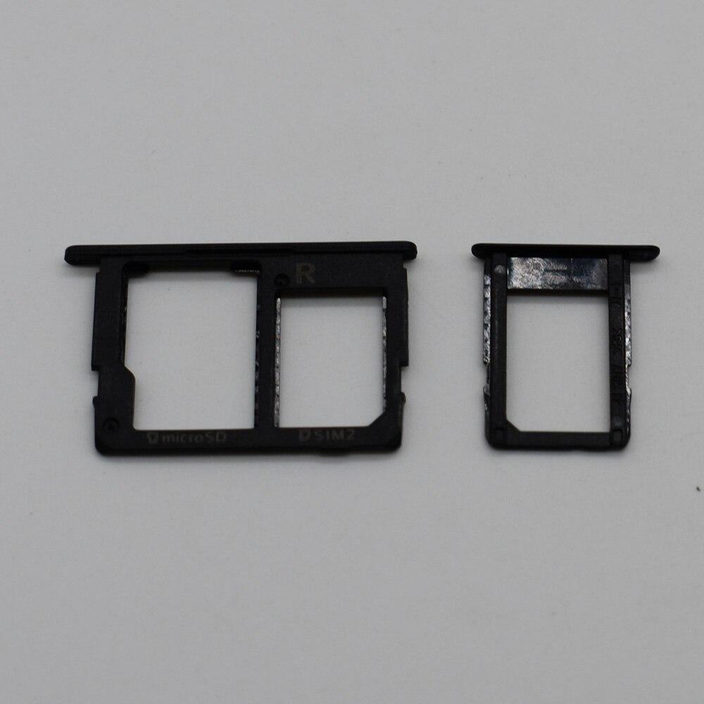 Original nuevo bandeja de la tarjeta SIM ranura titular Adaptador + titular de la tarjeta Micro SD para Samsung Galaxy J5 primer G570 J7 primer G610 On5 On7