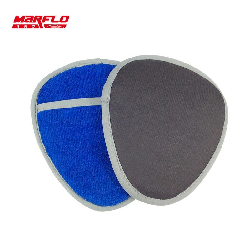 Car Wash Cleaning Microfiber Gloves Magic Clay Mitt Cloth Microfiber Towel Clay Bar Pad 6020