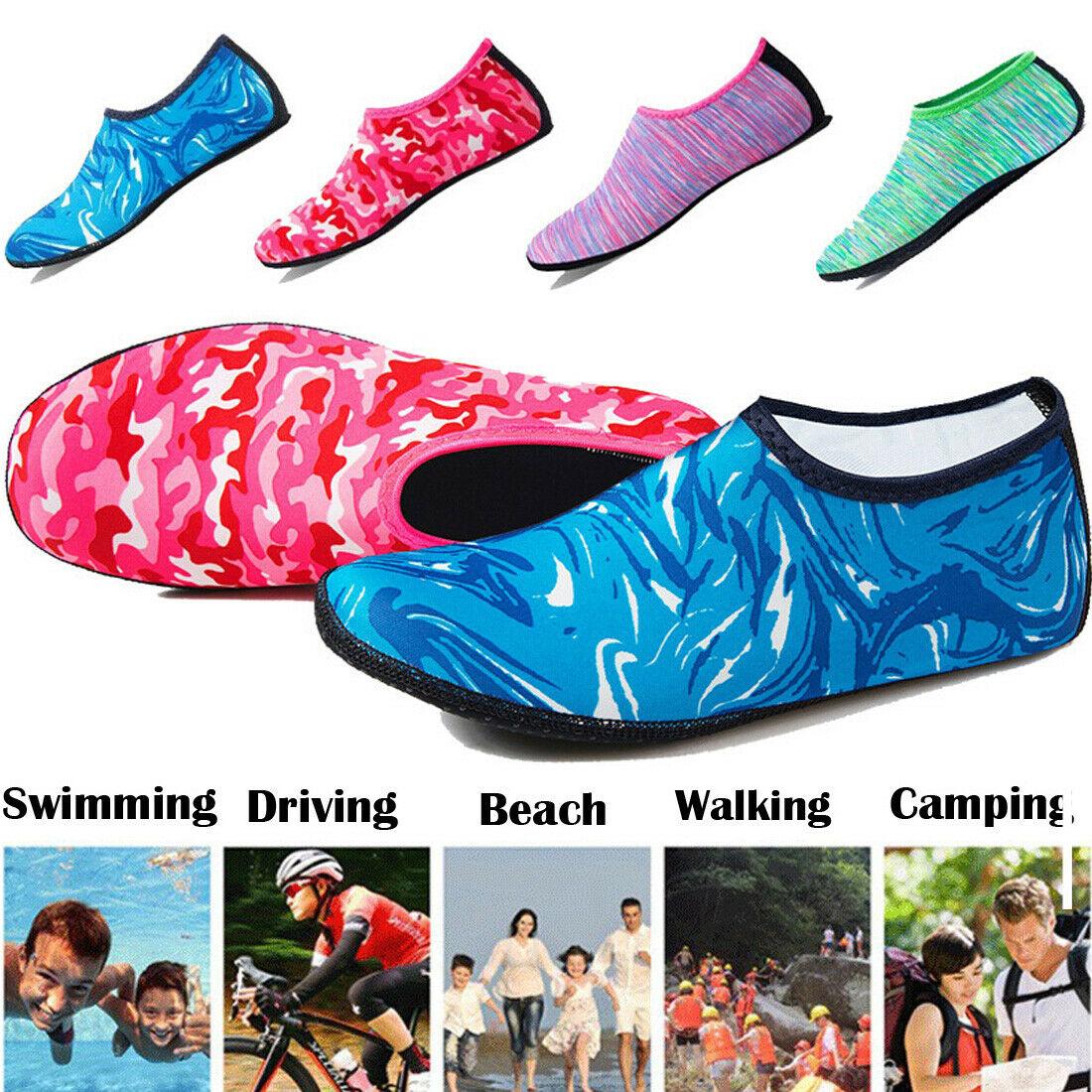 2019 New Unisex Barefoot Water Skin Shoes Aqua Socks for Beach Swim Surf Yoga Exercise Sports Socks