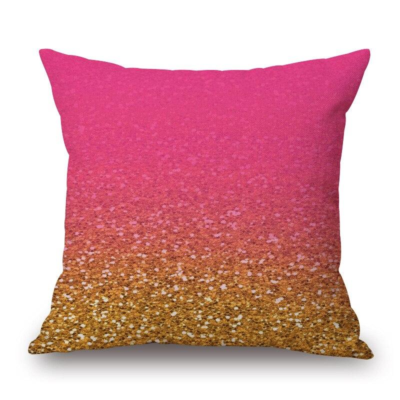 1 pieza diseño creativo mágico patrón abstracto asiento abrazo almohada cubierta decorativa Silla de hogar funda de almohada de algodón 45 45x45 cm
