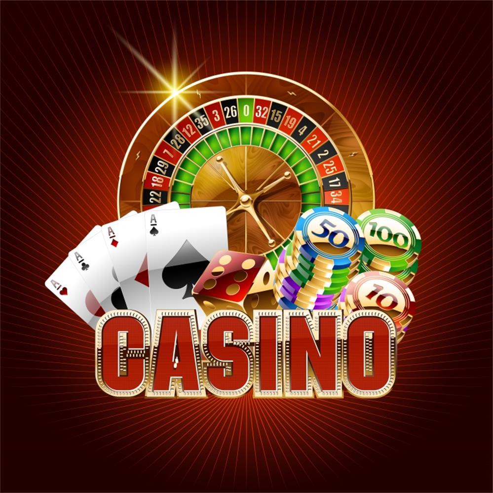 Laeacco Las Vegas telones de fondo Casino Poker tarjeta fichas fiesta bebé póster patrón fondos fotográficos estudio fotográfico photocall