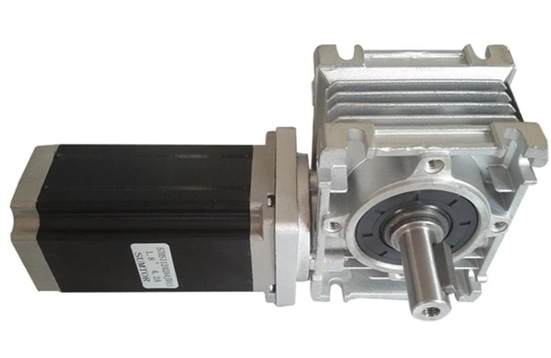 مجموعة علبة التروس الدودية ، NMRV30 ، 30:1 ، محرك متدرج NEMA23 ، 3 نانومتر ، 112 مللي متر ، 4.2A CNC