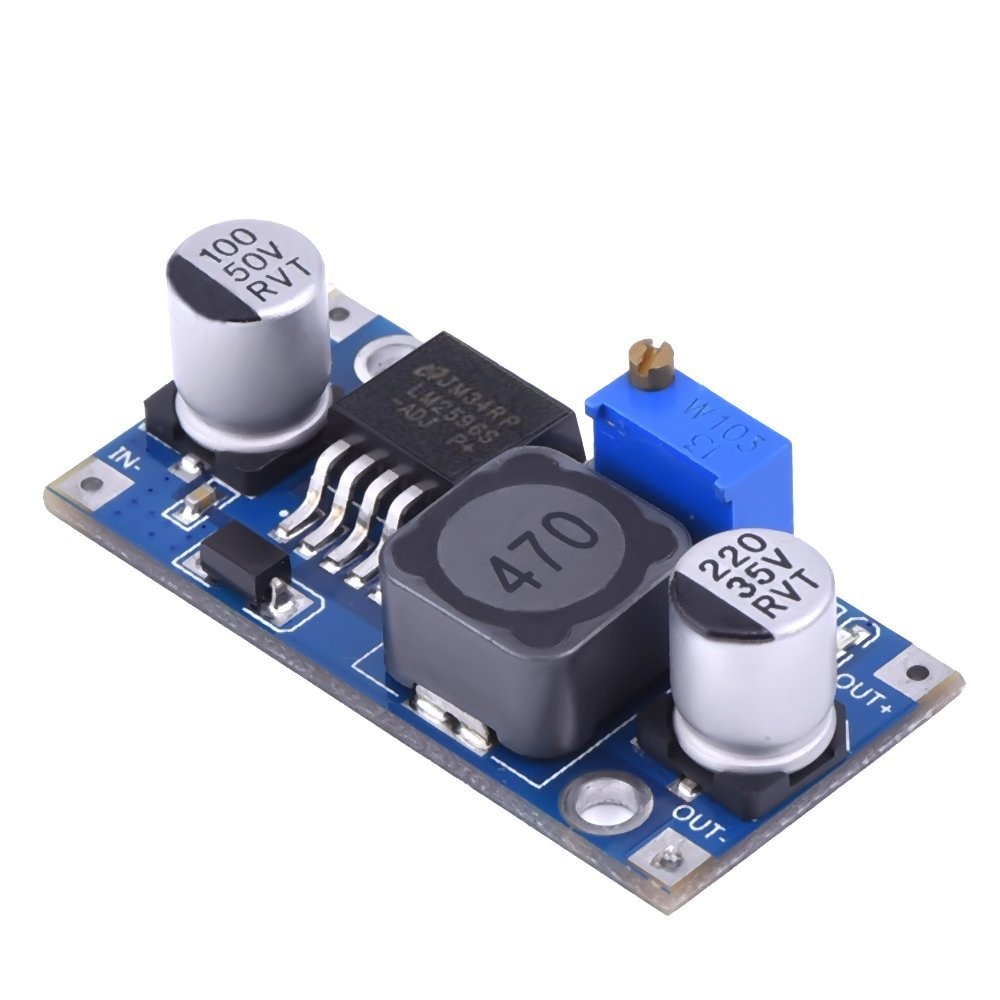 Module dalimentation abaisseur 3A réglable LM2596s DC-DC, régulateur de tension 24V 12V 5V 3V