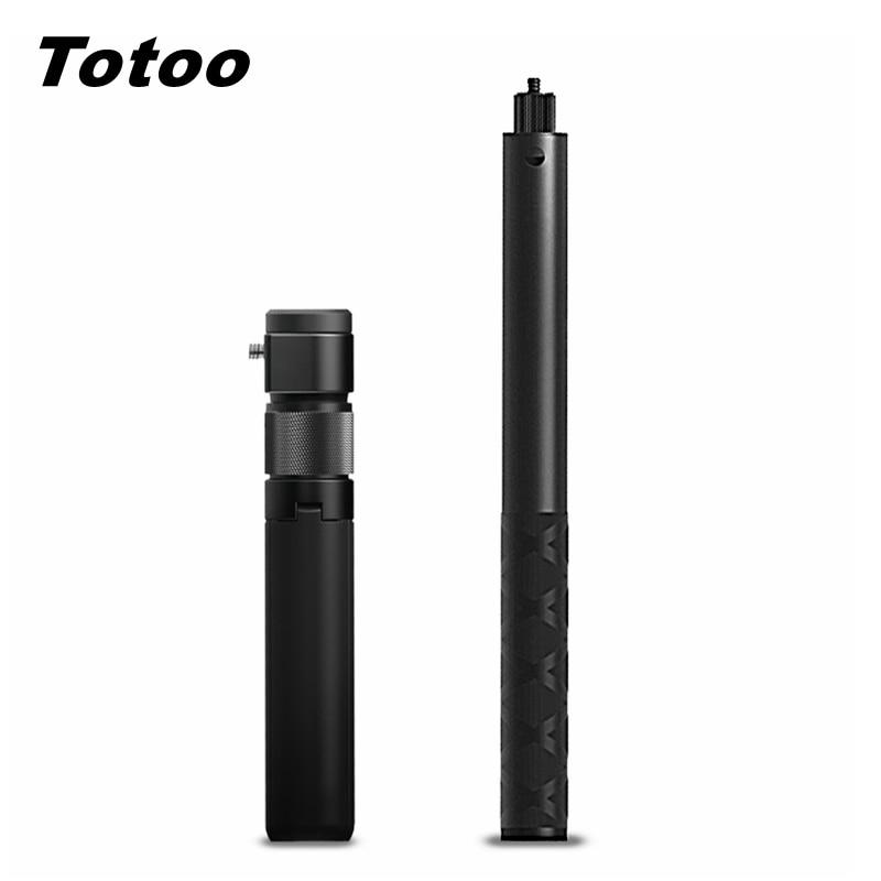 Para Insta360 ONE R Bullet Time Stealth Selfie Stick + trípode integrado mango giratorio para cámara Insta360 One X & One R 360 VR
