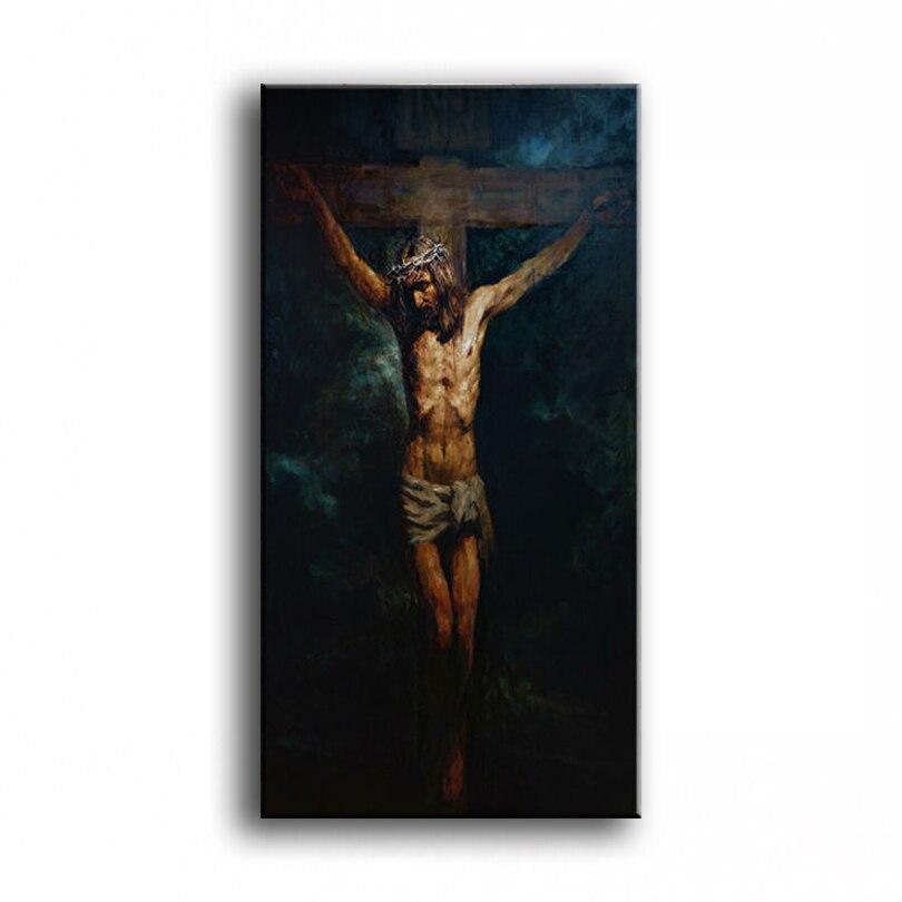 Jesucristo la pintura al óleo pintada a mano decoración del hogar pintura famosa alta calidad artistas modernos pintura 20180109
