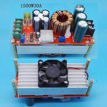 1500W 30A DC-DC Boost-Converter Step Up Power Supply Module Konstante Strom DC10-60V 36v 48v zu 10-30V 12v 24v