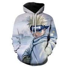 Kreskówki Naruto Gaara kurtka z nadrukami 3D mężczyźni/kobiety Hiphop bluzy z długim rękawem bluza w stylu Casual z kapeluszem chłopcy płaszcz ropa hombre 6XL