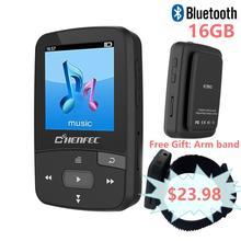 ChenFec-C50 dorigine Mini lecteur MP3 avec pince Sport lecteur de musique sans perte de haute qualité avec FM, prend en charge MP3, WMA, APE, FLAC
