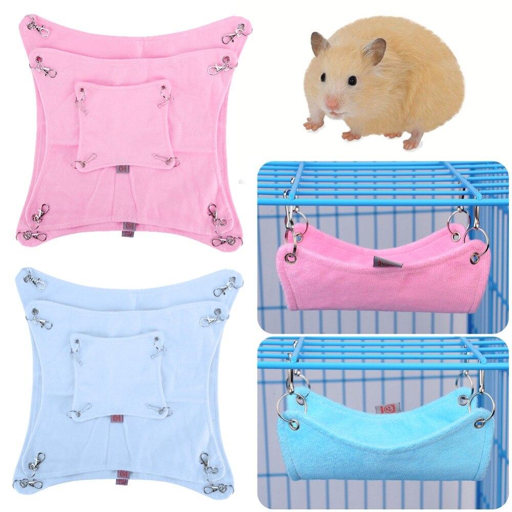 Suministros para mascotas, 3 tamaños, jaula con hamaca para mascotas de alta calidad, hamaca para hámster para ratas, bonito Animal hurón #261639