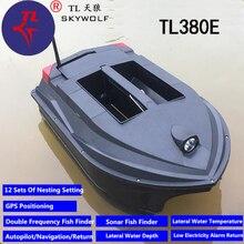 Retour automatique professionnel GPS Sonar appât bateau détecteur de pêche TL-380E GPS Auto croisière sans fil contrôle RC bateau de pêche VS JABO 5CG