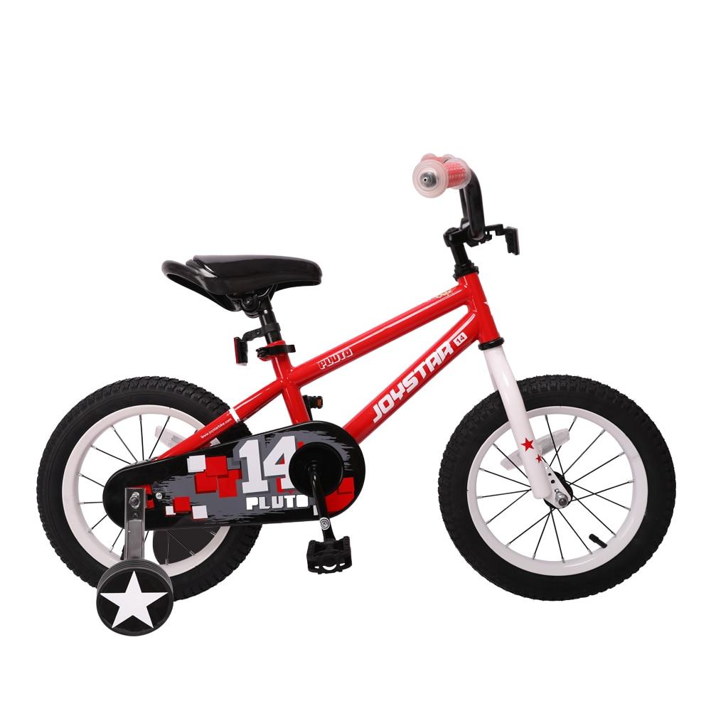 Joystar велосипед для мальчиков 14 дюймов детский велосипед с тренировочным колесом и перерывом на побережье, 85% в сборе