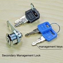 HOT 30 stks Master Key Systeem Mailbox Cam Slot met Sleutels Cam Archiefkast Lock Home Office Security Kabinet Sloten 16mm/20mm/25mm