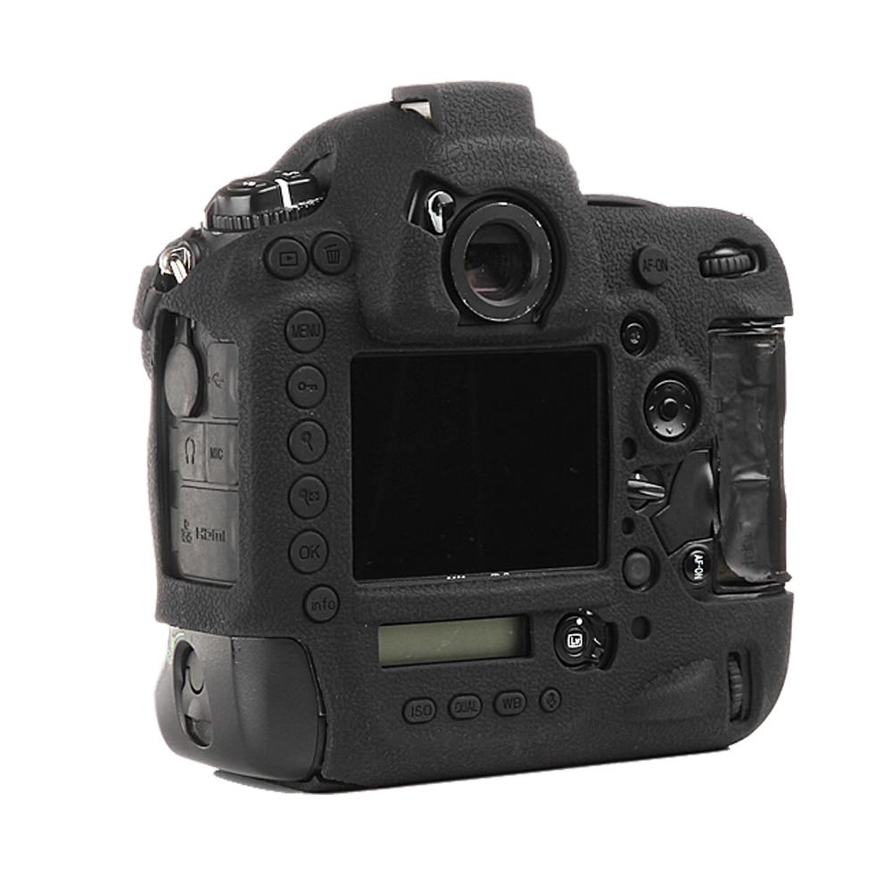 عالية الجودة لينة سيليكون المطاط كاميرا واقية الجسم حالة الجلد لنيكون D4 D4s DSLR كاميرا حقيبة حامي غطاء