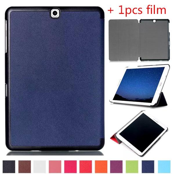 """Funda protectora de cuero con soporte tri-fold Karst para Samsung Galaxy Tab S2 9,7 """"SM-T810 T817 T813 T815 T819 Tablet PC"""