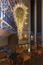Luxury Foyer Lighting Murano Glass Chandelier